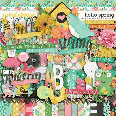 Hello Spring by Amanda Yi & Amber Shaw