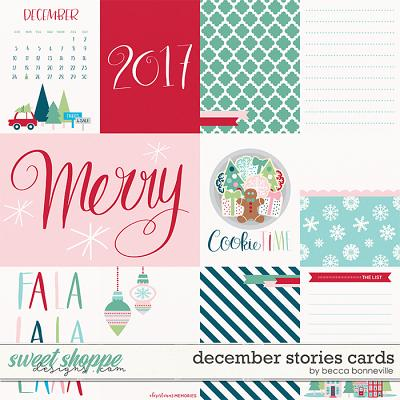 December Stories Cards by Becca Bonneville