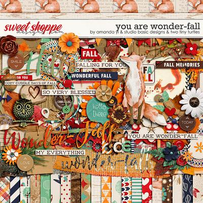 You Are Wonder-Fall Kit by Amanda Yi, Studio Basic Designs & Two Tiny Turtles