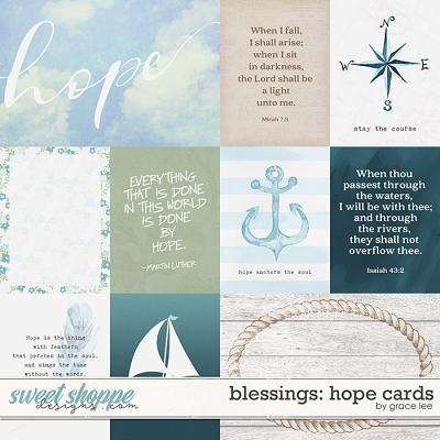 Blessings: Hope Cards by Grace Lee