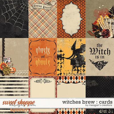 Witches Brew : Cards by Meagan's Creations