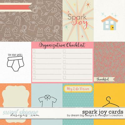 Spark Joy Cards by Dream Big Designs and Meagan's Creations