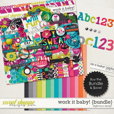 Work It Baby! {Bundle} by Digilicious Design