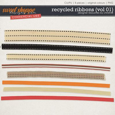 Recycled Ribbons {Vol 01} by Christine Mortimer