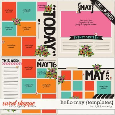 Hello May {Templates} by Digilicious Design