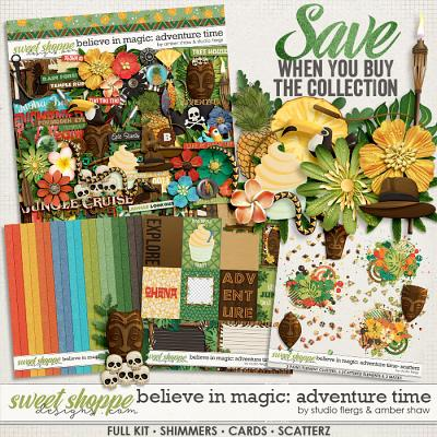 Believe in Magic: Adventure Time Collection by Amber Shaw & Studio Flergs