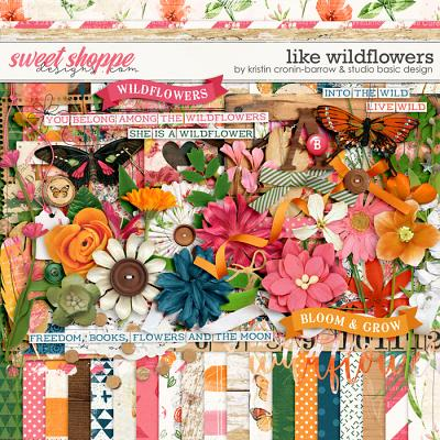 Like Wildflowers Kit by Kristin Cronin-Barrow and Studio Basic