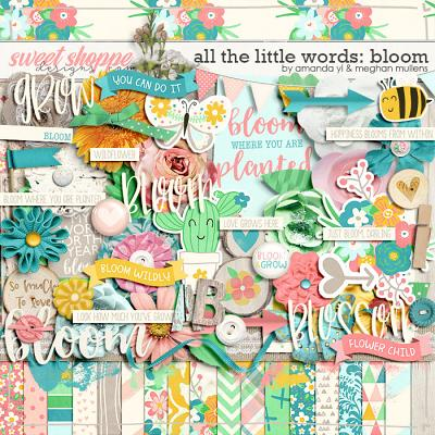 All The Little Words-Bloom Kit by Amanda Yi and Meghan Mullens