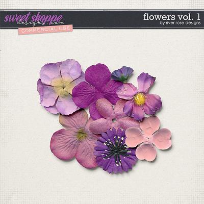 CU Flowers Vol. 1 by River Rose Designs