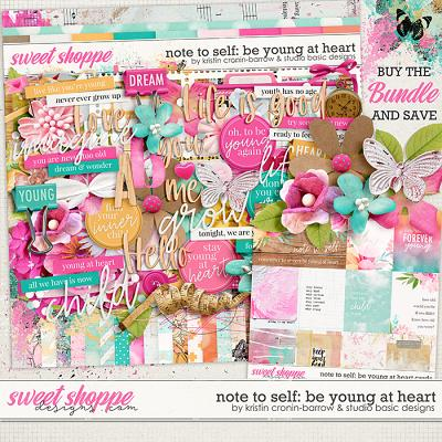 Note To Self: Be Young At Heart Bundle by Kristin Cronin-Barrow & Studio Basic