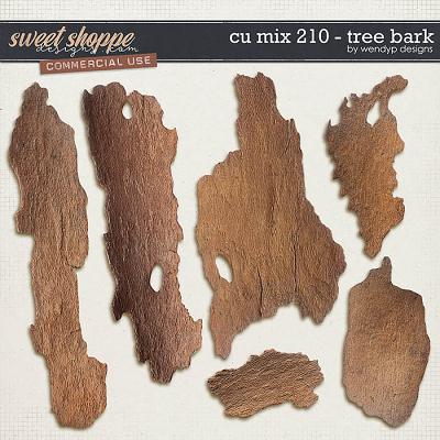 CU Mix 210 - tree bark by WendyP Designs