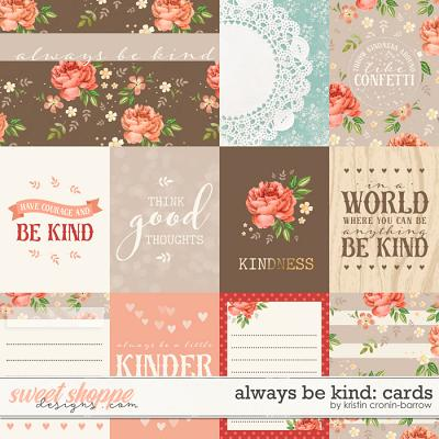 Always be Kind: Cards by Kristin Cronin-Barrow