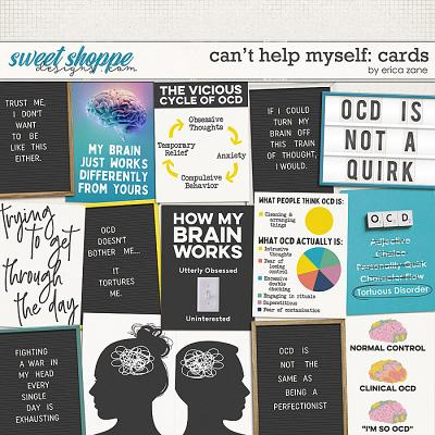 Can't Help Myself: Cards by Erica Zane