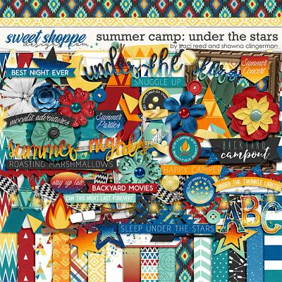Summer Camp: Under The Stars by Traci Reed and Shawna Clingerman