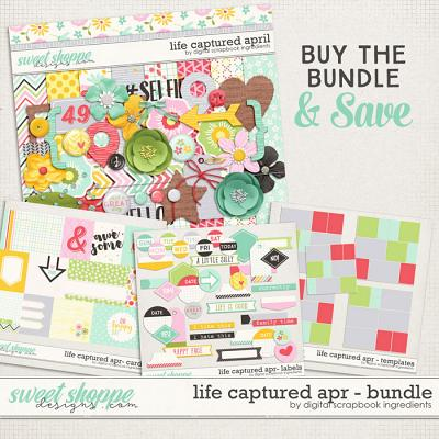 Life Captured April Bundle by Digital Scrapbook Ingredients