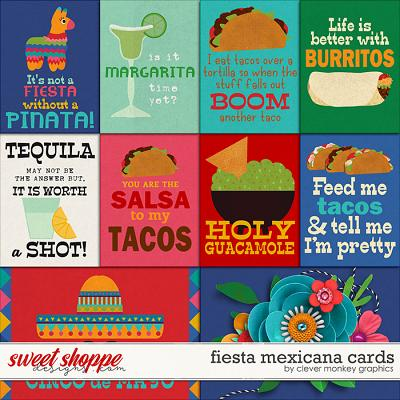 Fiesta Mexicana Cards by Clever Monkey Graphics