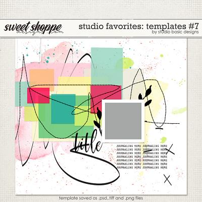 Studio Favorites: Templates #7 by Studio Basic
