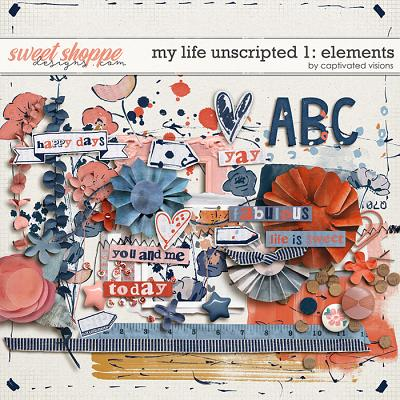 My Life Unscripted 1: Elements by Captivated Visions