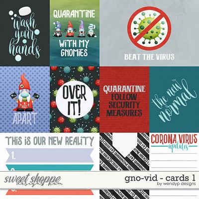 Gno-vid - Cards 1 by WendyP Designs