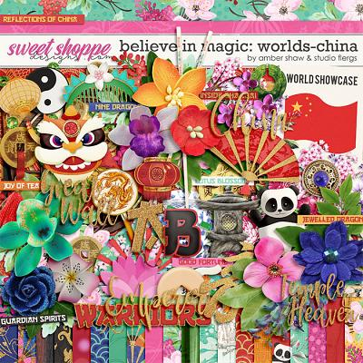 Believe in Magic: Worlds - China by Amber Shaw & Studio Flergs