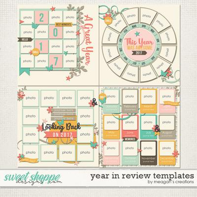 Year in Review : Templates by Meagan's Creations