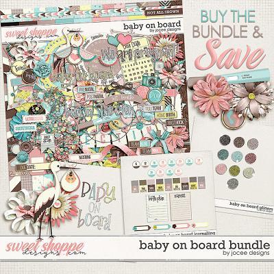 Baby on Board Bundle by JoCee Designs