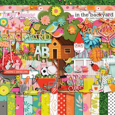 In the Backyard by Kelly Bangs Creative