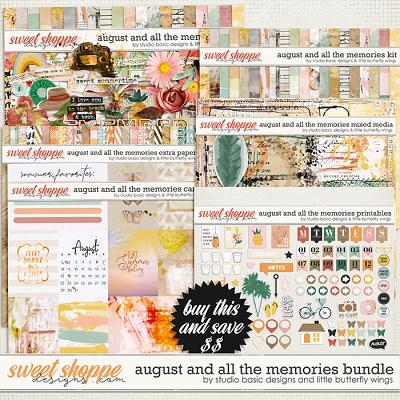 August And All The Memories... Bundle by Studio Basic & Little Butterfly Wings