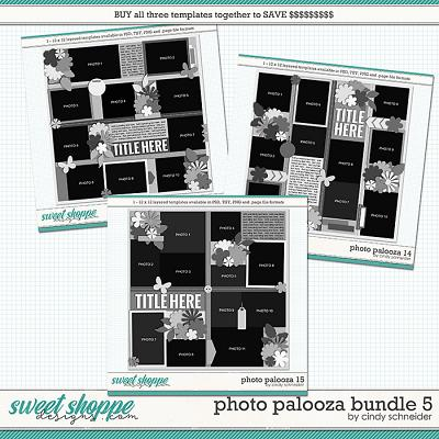 Cindy's Layered Templates - Photo Palooza Bundle 5 by Cindy Schneider