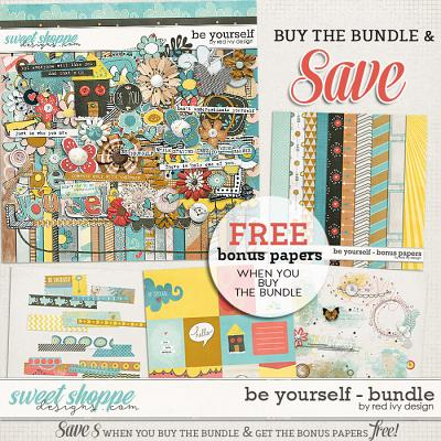 Be Yourself - Bundle by Red Ivy Design