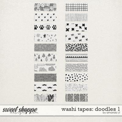Washi tapes: doodles 1 by Amanda Yi