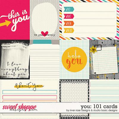 You: 101 Cards by River Rose Designs & Studio Basic Designs