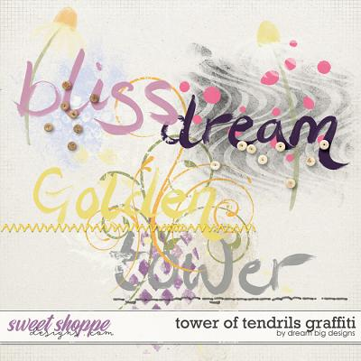 Tower of Tendrils Graffiti by Dream Big Designs
