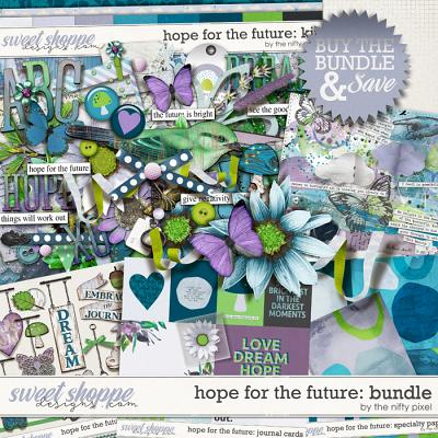 HOPE FOR THE FUTURE BUNDLE | by The Nifty Pixel