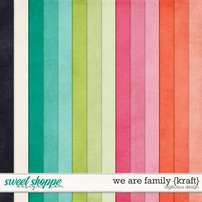 We Are Family {Kraft} by Digilicious Design