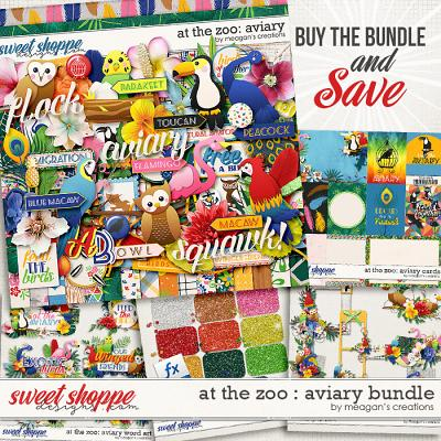At the Zoo: Aviary Collection Bundle by Meagan's Creations