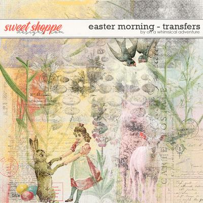 Easter Morning Transfers by On A Whimsical Adventure