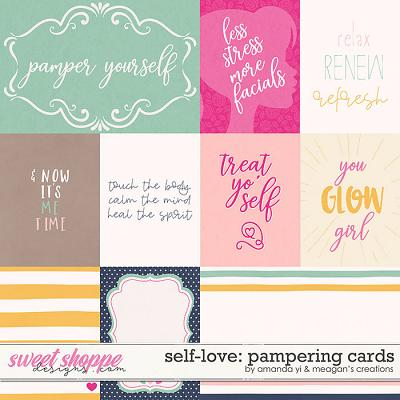 Self-Love: Pampering Cards by Amanda Yi & Meagan's Creations