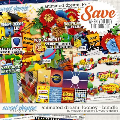 Animated Dream: Looney Collection Bundle by Meagan's Creations and WendyP Designs