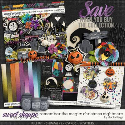 Remember the Magic: CHRISTMAS NIGHTMARE- COLLECTION & *FWP* by Studio Flergs