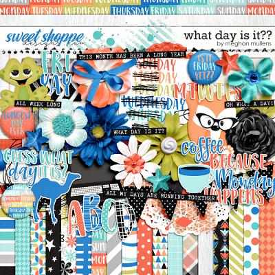 What Day Is It?-Kit by Meghan Mullens