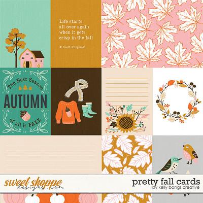 Pretty Fall Cards by Kelly Bangs Creative
