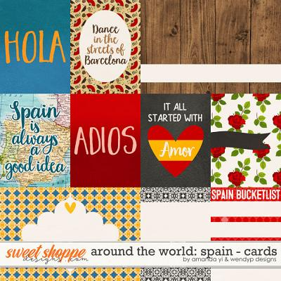 Around the world: Spain - Cards by Amanda Yi & WendyP Designs