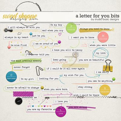 A Letter For You Bits by Studio Basic