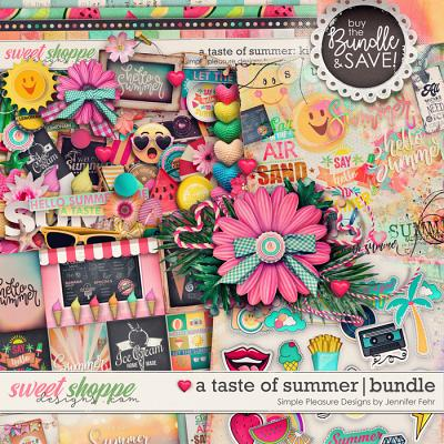 a taste of summer bundle: simple pleasure designs by jennifer fehr