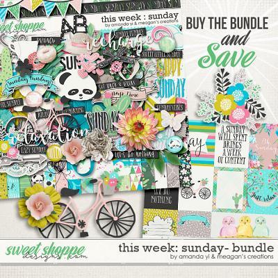 This Week: Sunday - Bundle by Amanda Yi & Meagan's Creations