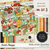 Little Artist Bundle by Digilicious Design