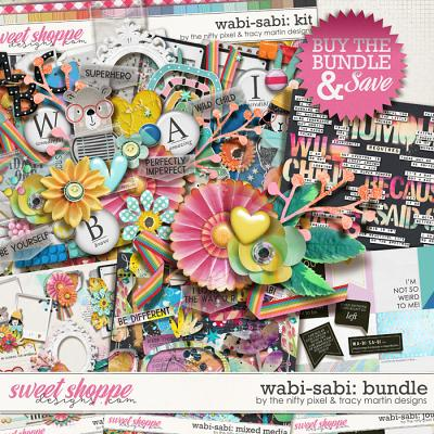 WABI-SABI BUNDLE | The Nifty Pixel & Tracy Martin Designs