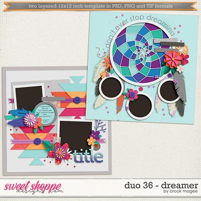 Brook's Templates - Duo 36 - Dreamer by Brook Magee
