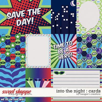 Into the Night : Cards by Meagan's Creations